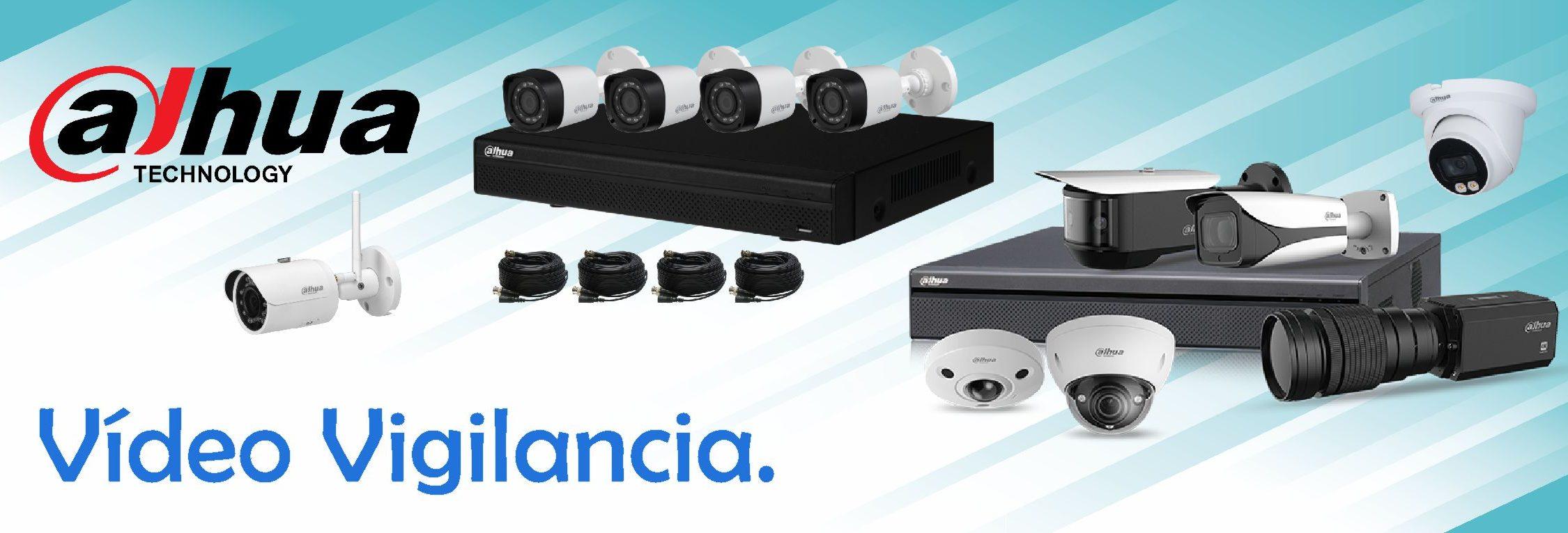 Grabadores DVR camaras video vigilancia IP analogicas